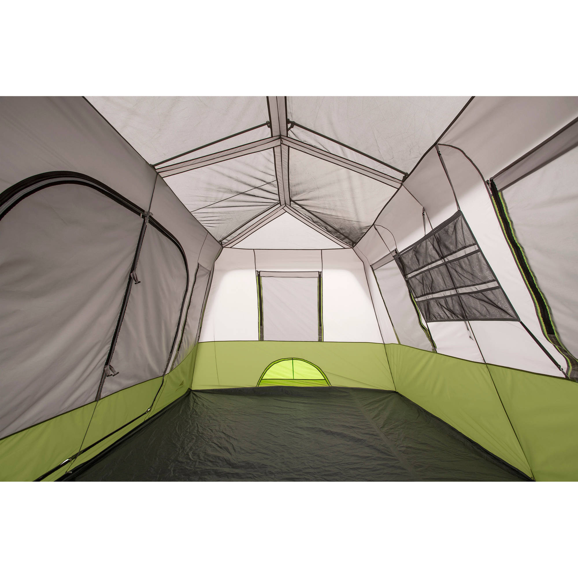 Ozark Trail 9 Person 2 Room Instant Cabin Tent with Screen Room - Walmart.com  sc 1 st  Walmart : tents easy to put up - memphite.com