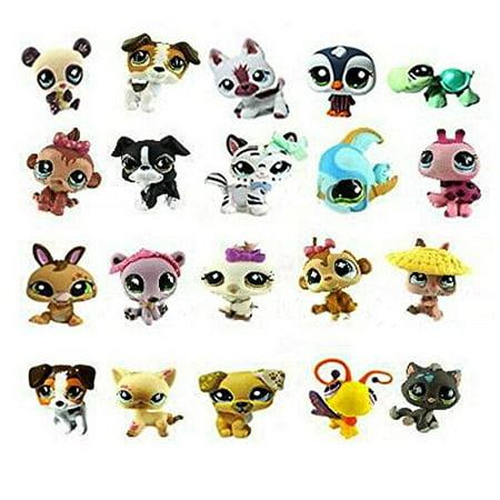 Lot 20pcs Littlest Pet Shop Mini Dog Loose Figures Random Child Toys - Shop Kids Toys