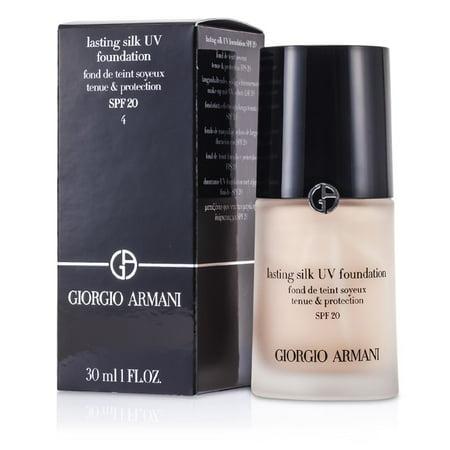 Giorgio Armani Lasting Silk UV Foundation SPF 20 - # 4  Light Sand -