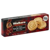 Walkers Pure Butter Shortbread Rounds, 5.3 Oz.