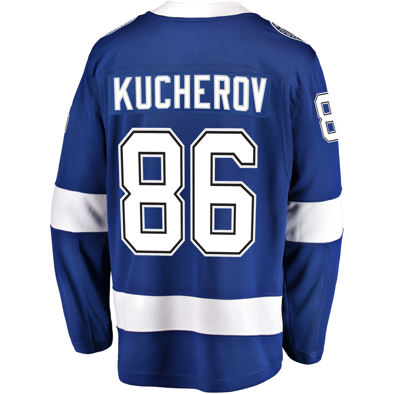 d9a0383a Nikita Kucherov Tampa Bay Lightning NHL Fanatics Breakaway Home Jersey -  image 1 of 2 zoomed image