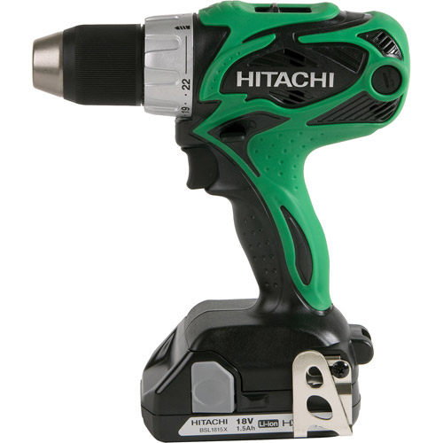 Hitachi 18V Cordless Compact Pro Driver Drill With Flashlight