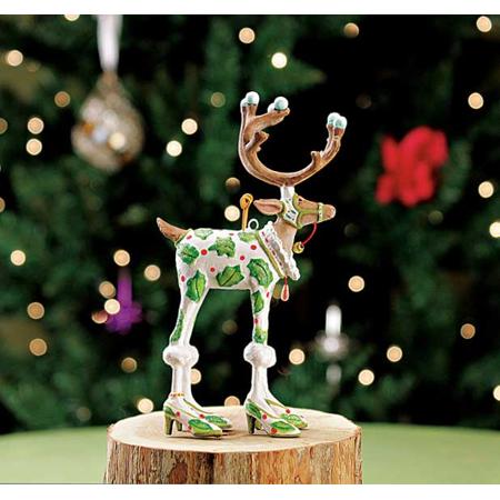 Patience Brewster Krinkles Dash Away Mini Vixen Reindeer