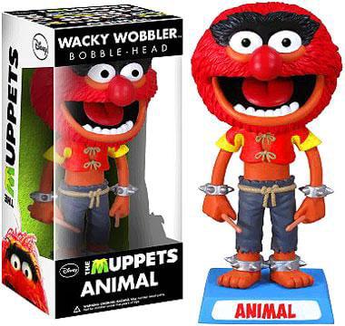 Funko The Muppets Wacky Wobbler Animal Bobble Head