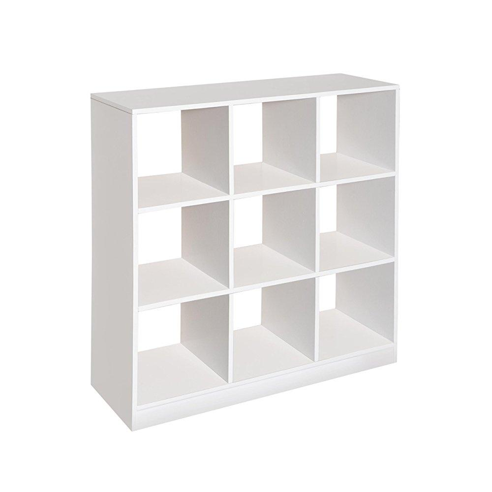 Badger Basket 3 by 3 Storage Unit, White by Badger Basket