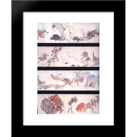 One hundred demons 20x24 framed art print by hakuin ekaku walmart one hundred demons 20x24 framed art print by hakuin ekaku fandeluxe Image collections