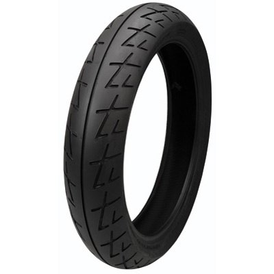 120/70ZR-17 (58W) Shinko 009 Raven Front Motorcycle Tire for BMW R nineT Racer 2017-2018
