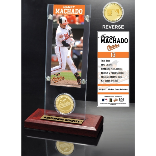 Baltimore Orioles Manny Machado 2015 Player Ticket & Coin - No Size