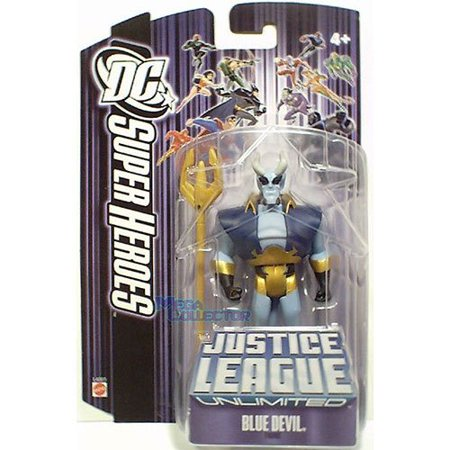 Justice League Unlimited Blue Devil Action Figure - image 1 of 1