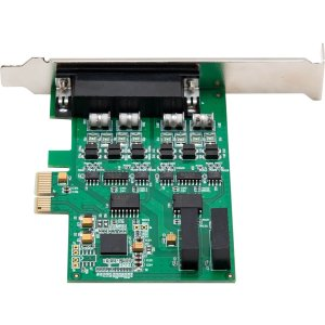 2Port Pcie 16C550 Si Pex15043 Io Crest Rs232 Db9 Female Pnl Mount