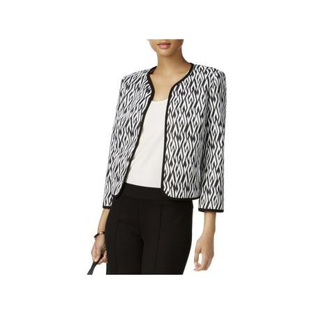 Kasper Womens Petites Suit Separate Office Wear Open-Front