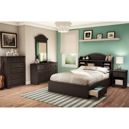 (South Shore Summer Breeze Bookcase Bedroom Collection)
