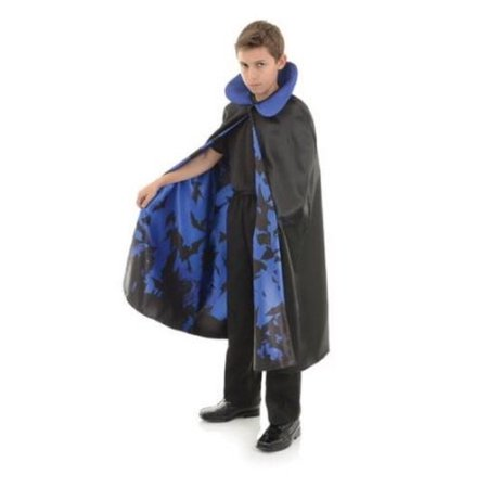 Underwraps Childrens Vampire Cape with Bat Lining Costume Piece ( One Size - Cheap Vampire Capes