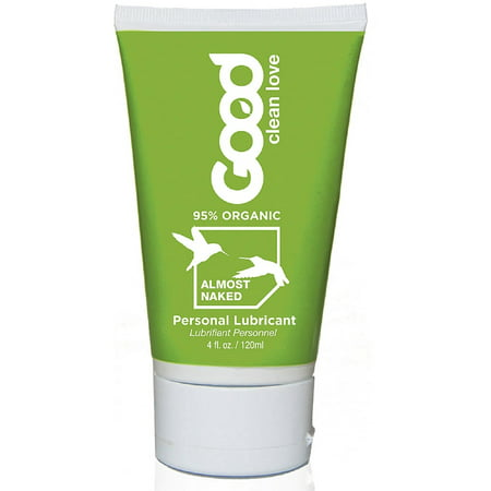 Good Clean Love All Natural Personal Lubricant  Almost Naked 4 Oz