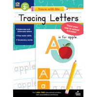 Trace with Me Tracing Letters