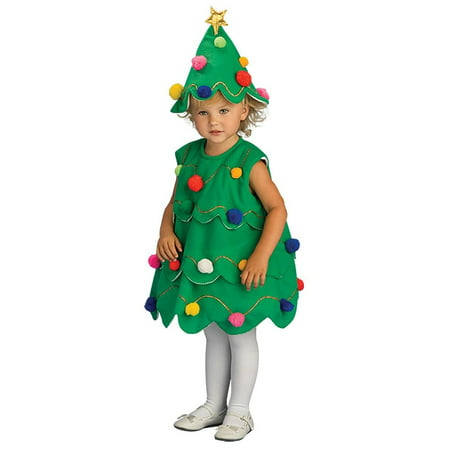 Little Christmas Tree Costume for Toddlers](Toddler Christmas Costumes)