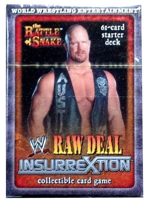 WWE Wrestling InsurreXtion InsurreXtion Starter Deck The Rattlesnake by