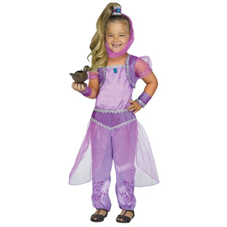 Toddler Purple Glimmer Genie Shimmer Costume