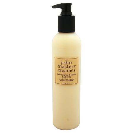 John Masters Organics Body Milk, Blood Orange and Vanilla, 8 - John Masters Organics Rose Moisturizer