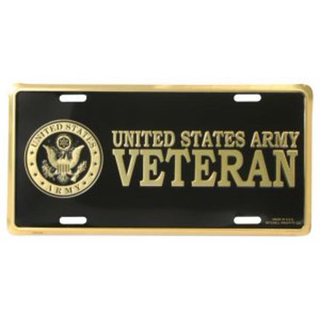United States Army Veteran License Plate