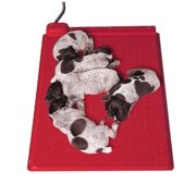 "Kane Heat Mat with Integrated Rheostat for Pet, Dog, Puppy, Animal Bed 18""x 28"""