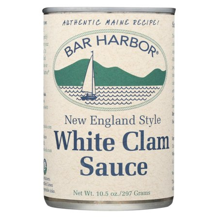 Bar Harbor - New England Style White Clam Sauce - Pack Of 6 - 10.5