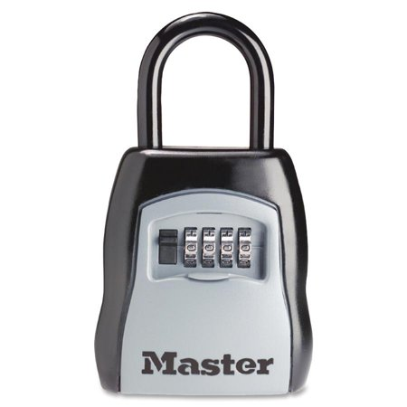 Master Lock Lock Box 5400d Set Your Own Combination Portable 3 1