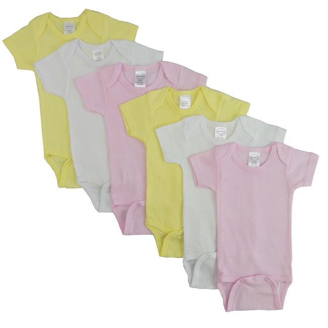 CS-003M-003M Pastel Girls Short Sleeve, Assorted - Medium - image 1 of 1
