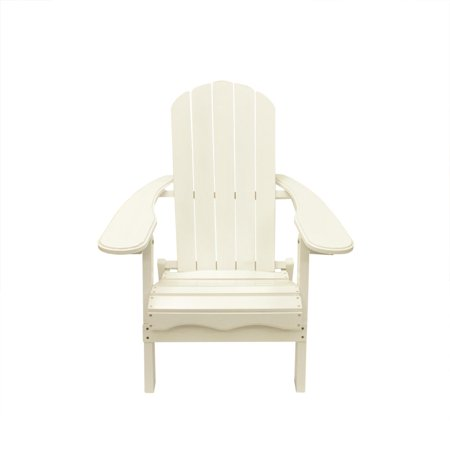 40 white wooden folding outdoor patio adirondack chair. Black Bedroom Furniture Sets. Home Design Ideas