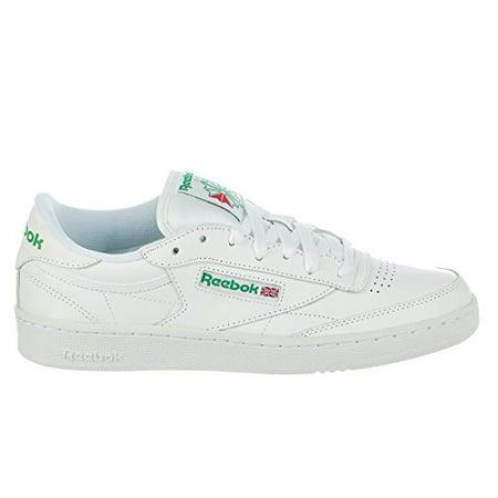 ef7bf466fdc Reebok - Reebok AR0456  Men s Club C 85 Fashion Int-White Green Sneaker  (8.5 D(M) US Men) - Walmart.com