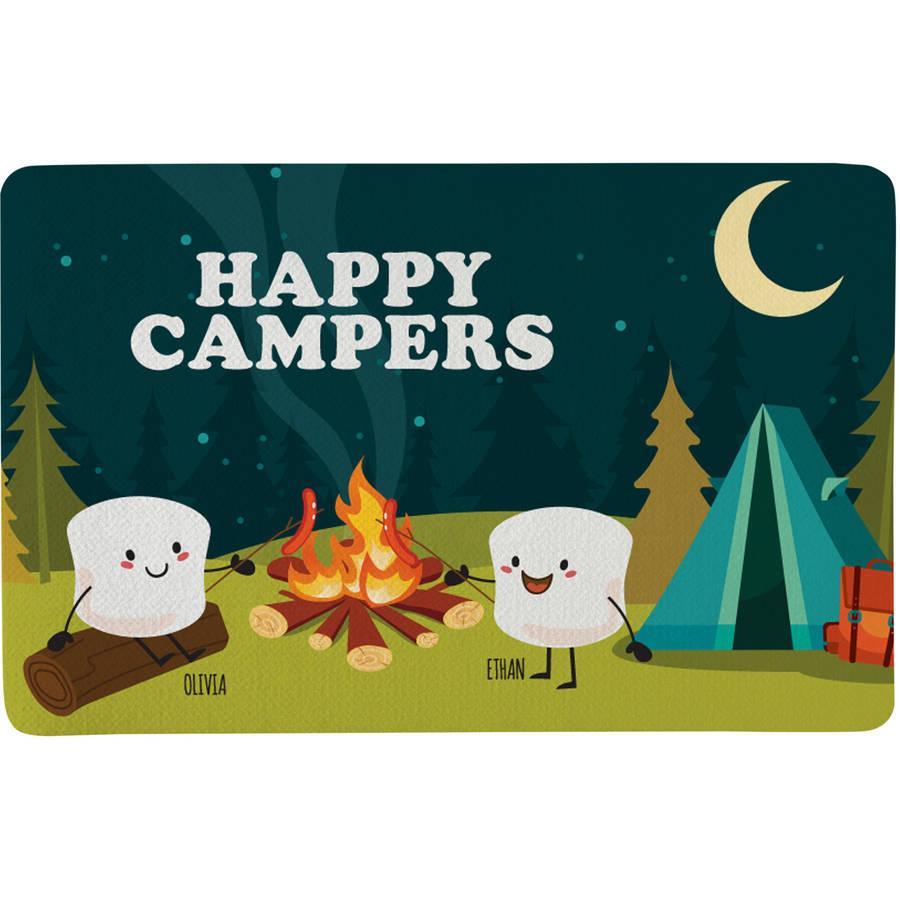 Personalized Campfire Smores Doormat