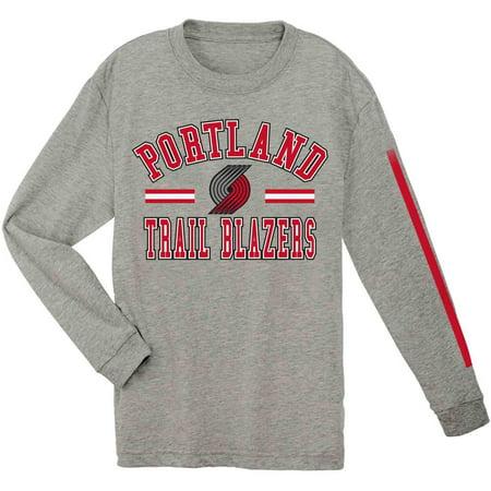 NBA Portland Trail Blazers Youth Team Long Sleeve Tee