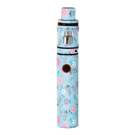 Skins Decals For Smok Stick V8 Pen Vape / Bees Flowers