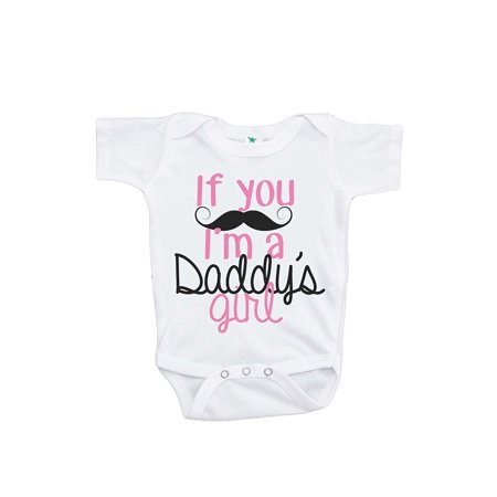 Custom Party Shop Baby Girls' Novelty Father's Day Onepiece - Pink / 3-6 Months - Custom For Baby
