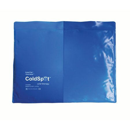 Relief Pak blue-vinyl reusable cold pack, standard (11 x 14