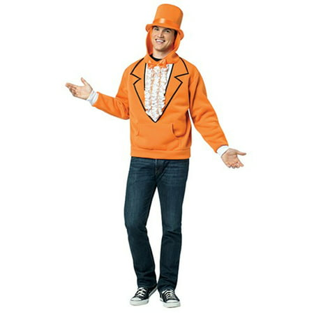 Dumb and Dumber Lloyd Christmas Tuxedo Hoodie Costume