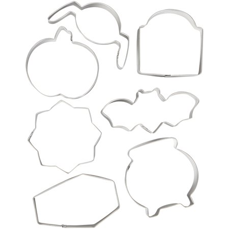 Bone Cookies For Halloween (Wilton Halloween Cookie Cutter Set,)