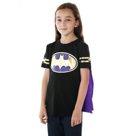 Black Female Superhero (DC Superhero Girls Batgirl Dress Up Costume T-Shirt w/)