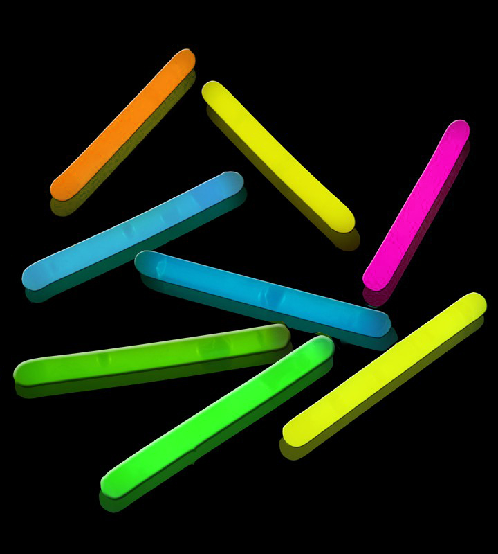 "Lumistick 2"" Glow Sticks, Assorted Colors, 500 ct"