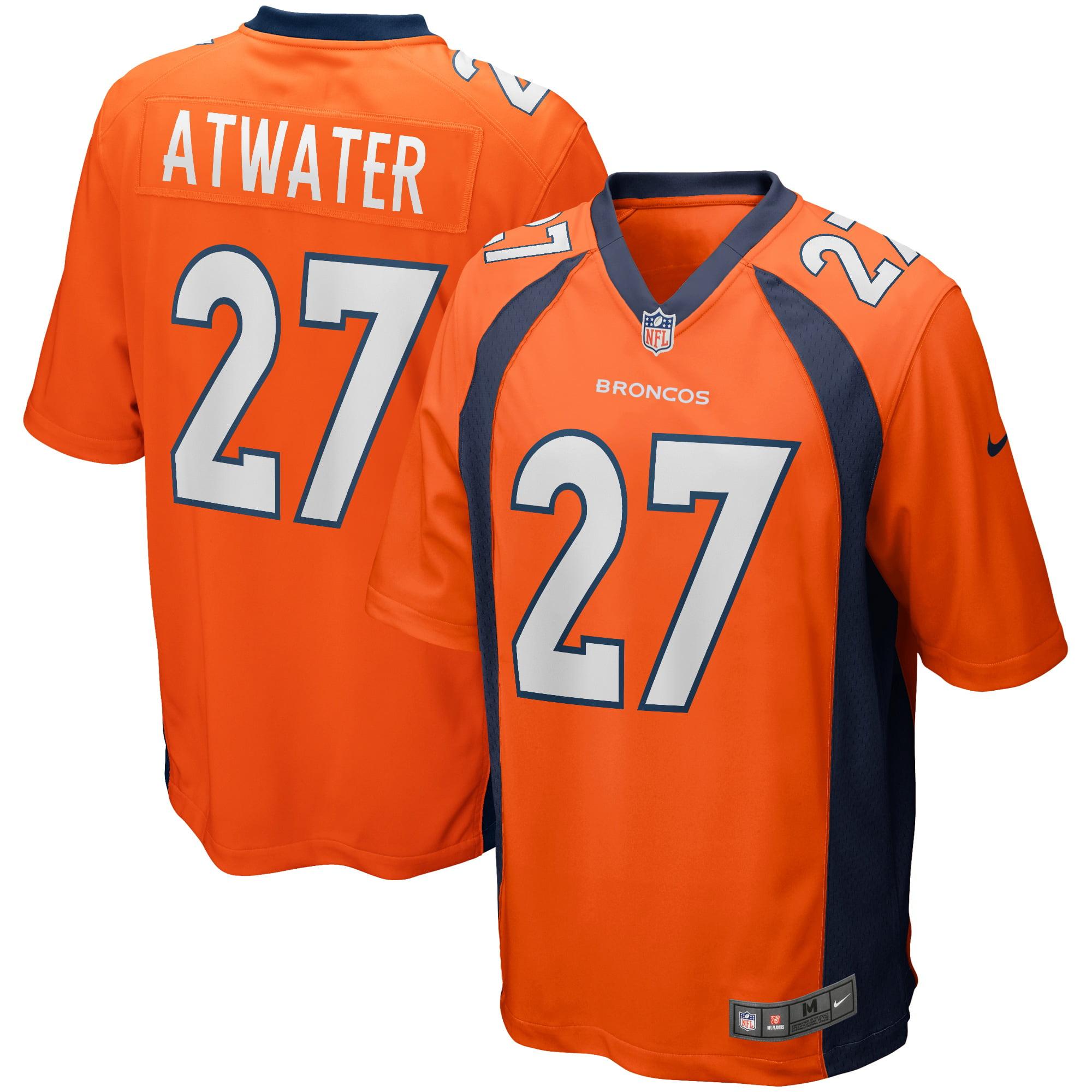Steve Atwater Denver Broncos Nike Game Retired Player Jersey - Orange - Walmart.com