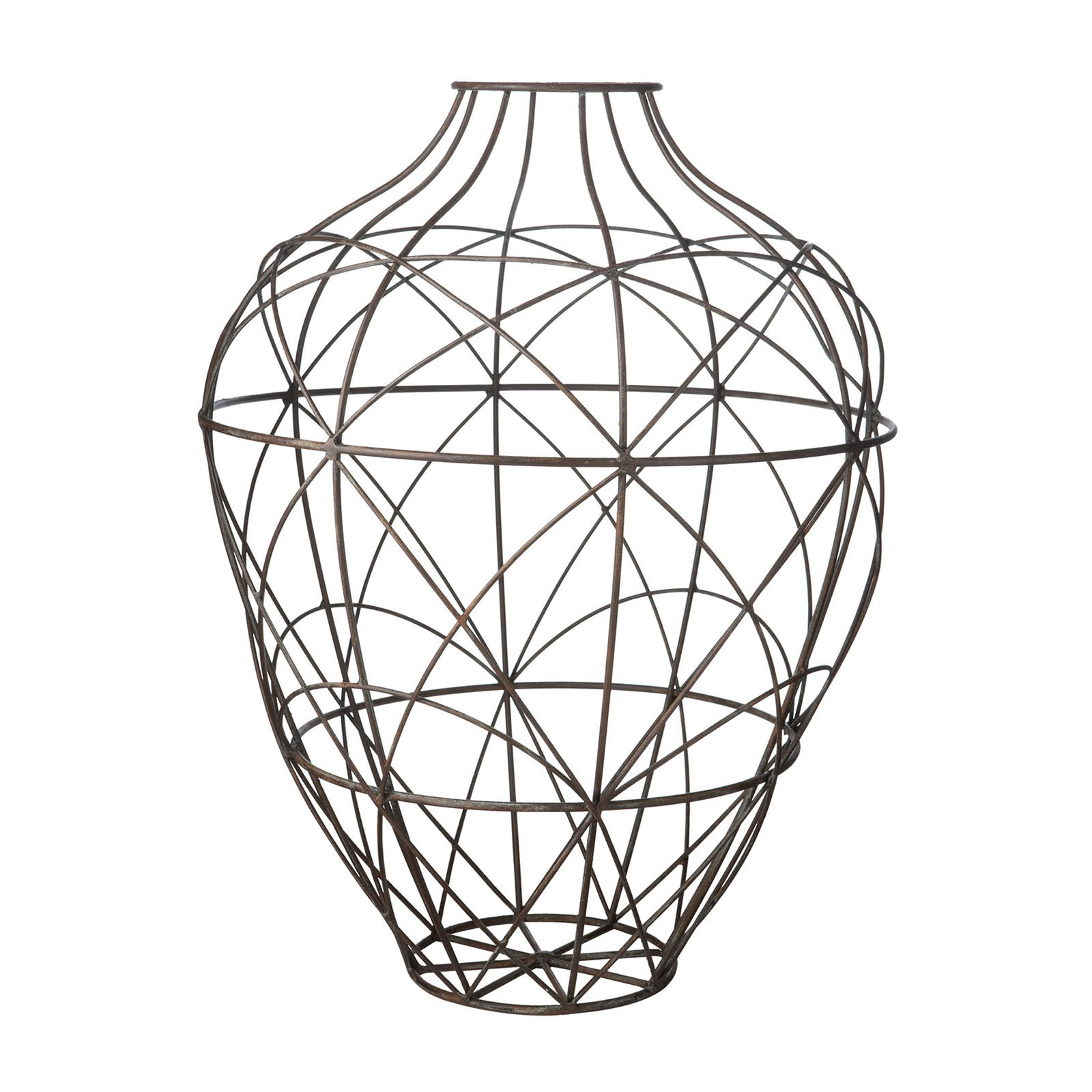 Dimond Home Russet Wire Vessel