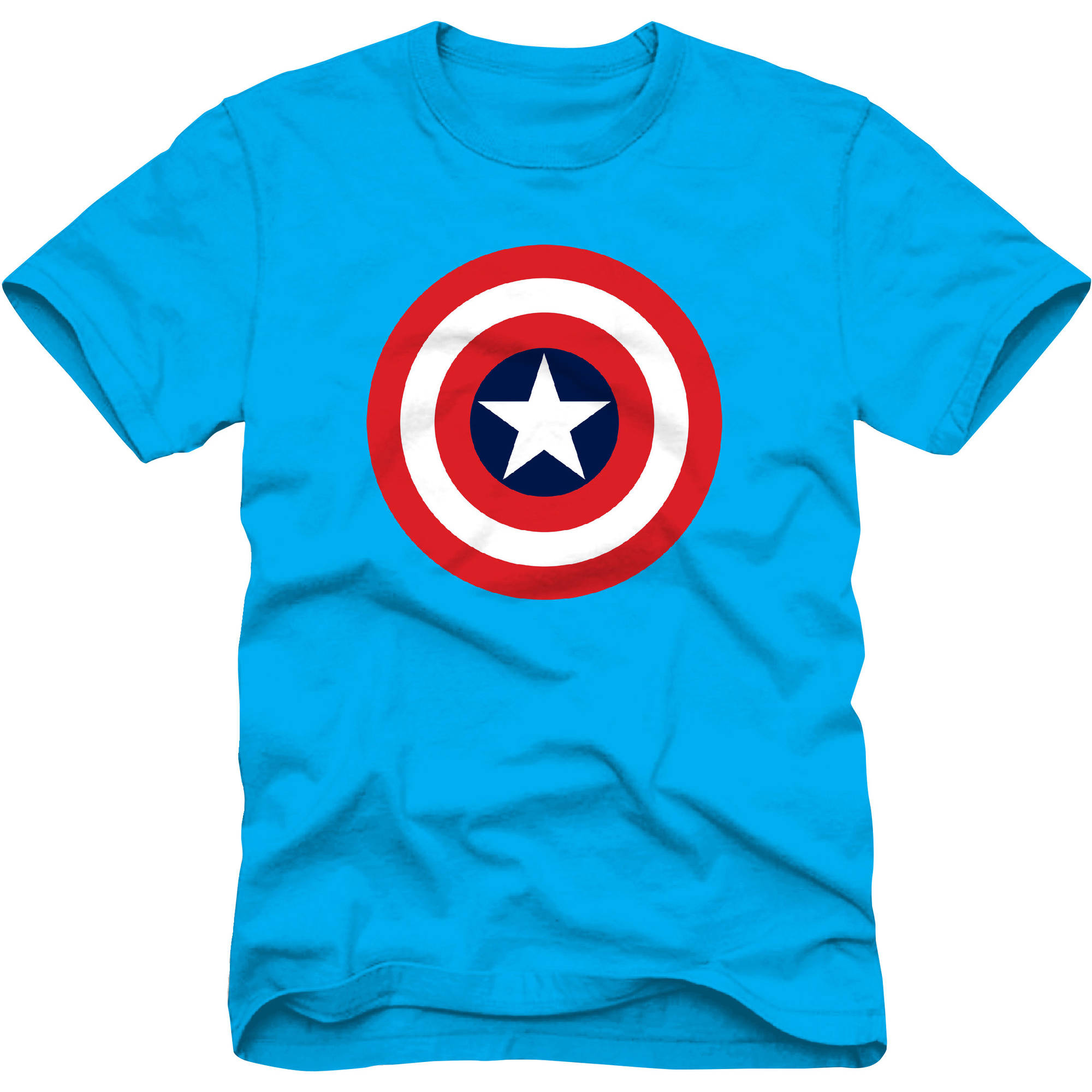 Marvel Captain America Logo Boys Graphic Tee