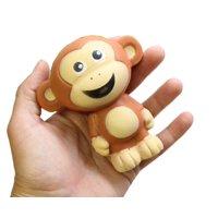 Monkey Large Squishy Slow Rise Animal - Sensory, Stress, Squish Fidget Toy Memory Foam ADHD