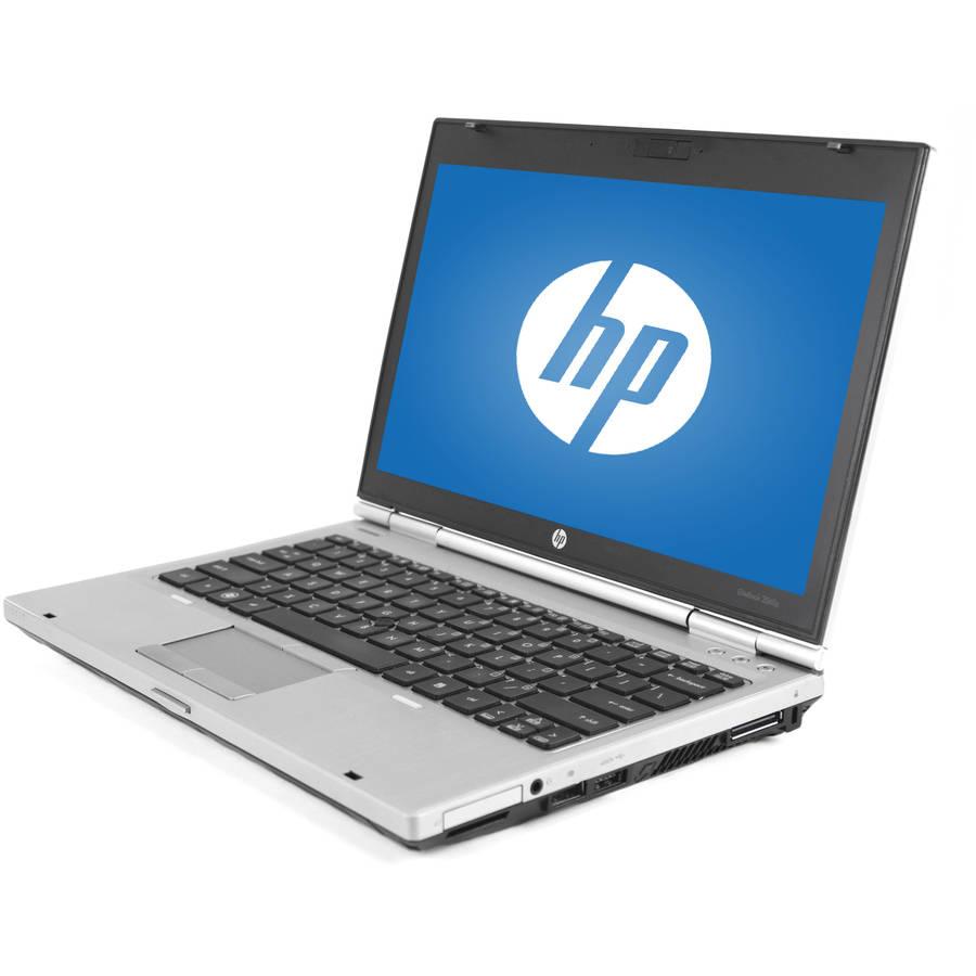 "Refurbished HP Black 12.5"" 2560P Laptop PC with Intel Core i5-2520M Processor, 8GB Memory, 128GB SSD and Windows 7 Professional"