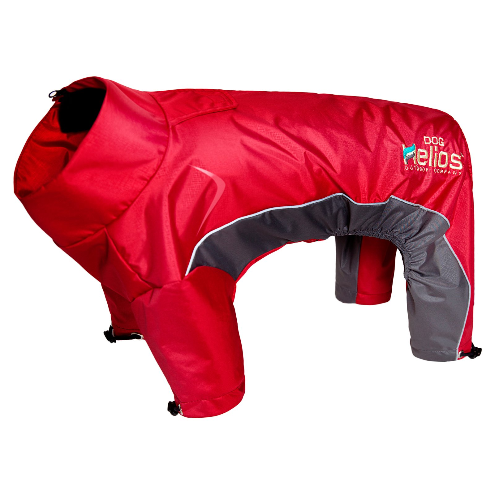 Pet Life Helios Blizzard Full-Bodied Adjustable and 3M Reflective Dog Jacket