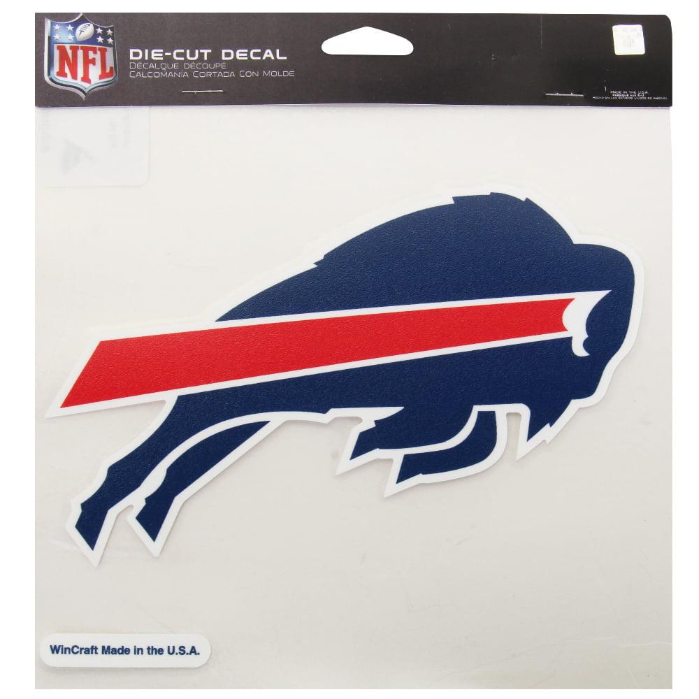 Buffalo Bills WinCraft 8'' x 8'' Color Car Decal - No Size