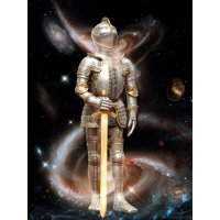 LAMINATED POSTER Star Wars Warrior Fighter Star Universe Power Poster Print 24 x 36