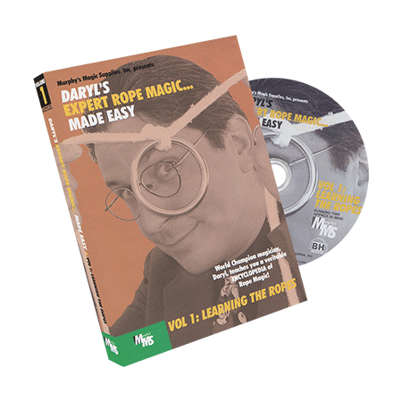 Expert Rope Magic Made Easy By Daryl    1  Dvd