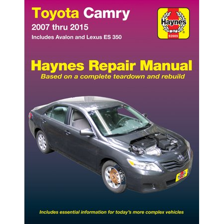 Toyota Camry & Avalon & Lexus ES 350 (07-15) Haynes Repair Manual (Does not include information specific to hybrid models) Haynes Xtreme Customizing Manual