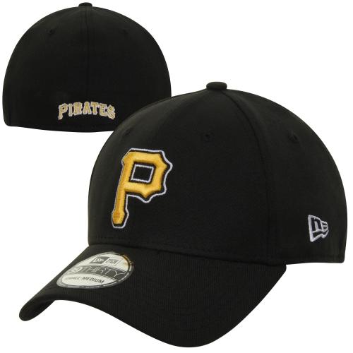 Pittsburgh Pirates New Era MLB Team Classic Alternate 39THIRTY Flex Hat - Black